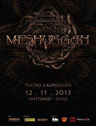 Meshuggah poster