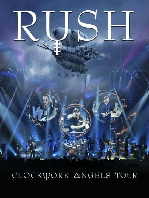 Portada de Rush: Clockwork Angels Tour