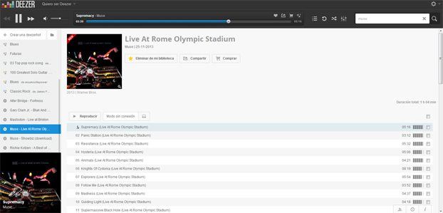 Muse Live At Rome Olympic Stadium Deezer