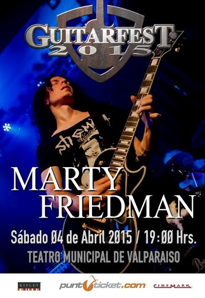 Marty Friedman Guitarfest 2015