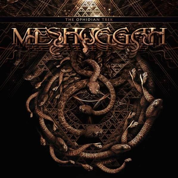 the ophidian trek Meshuggah