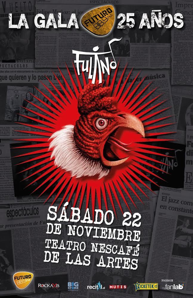 Fulano - La Gala @ Teatro Nescafé de las Artes | Santiago | Región Metropolitana de Santiago | Chile