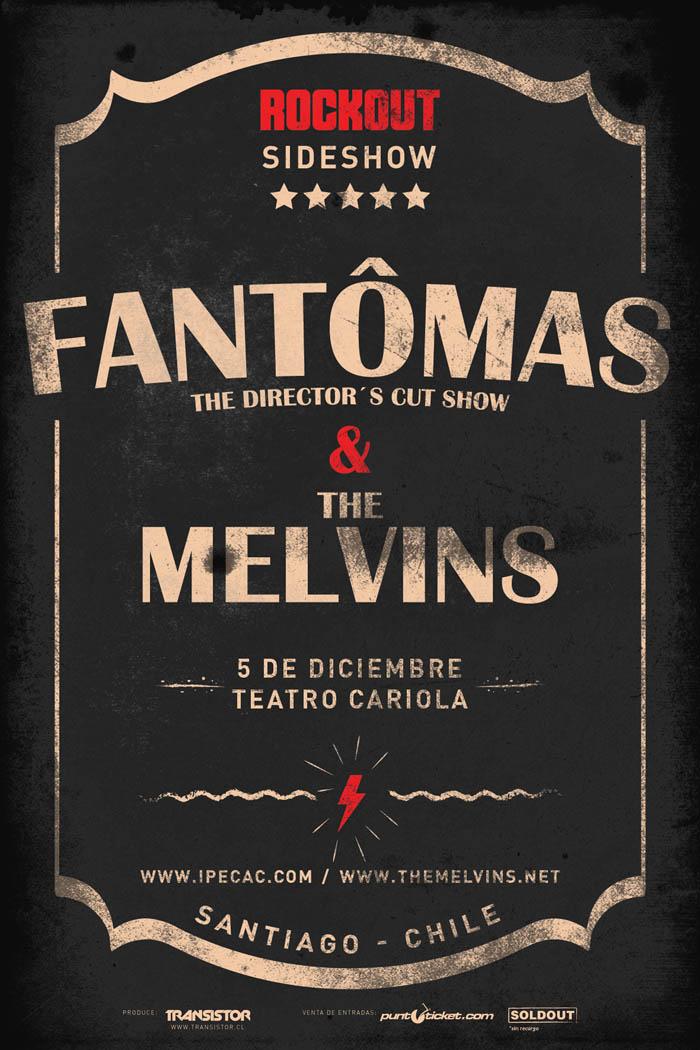 Fantômas y The Melvins @ Teatro Cariola | Región Metropolitana de Santiago | Chile