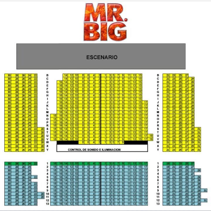 Mr Big Mapa