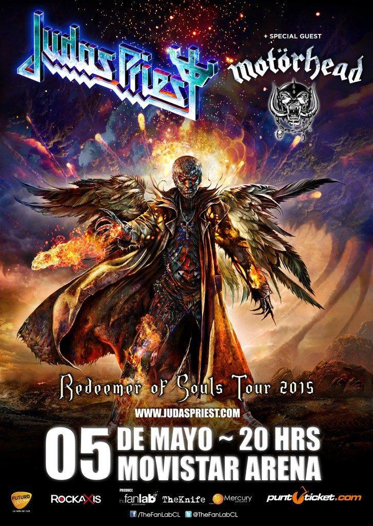 Judas y Motorhead Chile