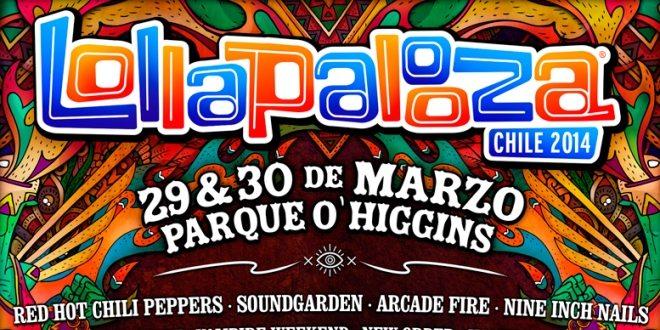 Lollapalooza Chile 2014 - Promo