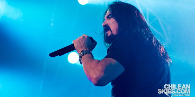 James Labrie - Dream Theater en Chile
