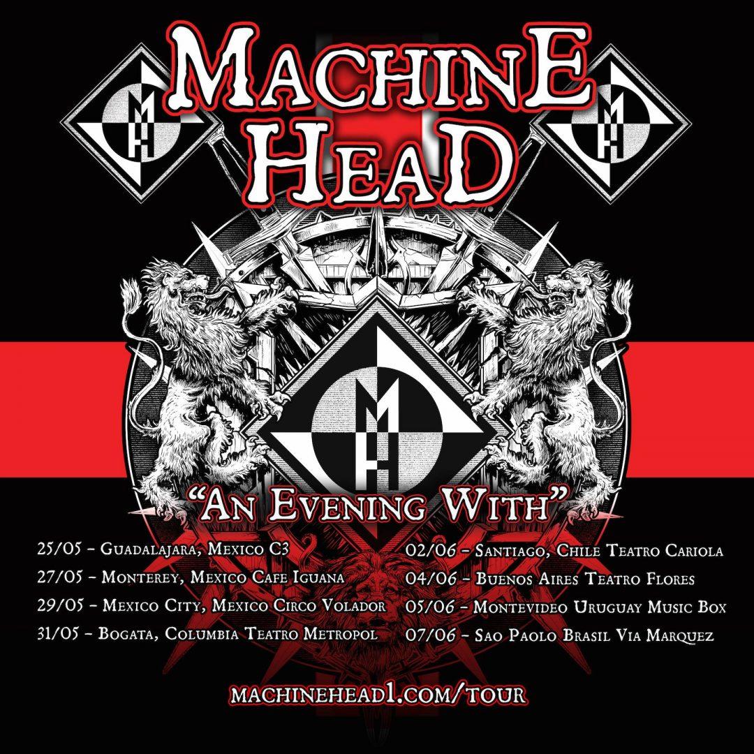 machine head tour latinoamérica
