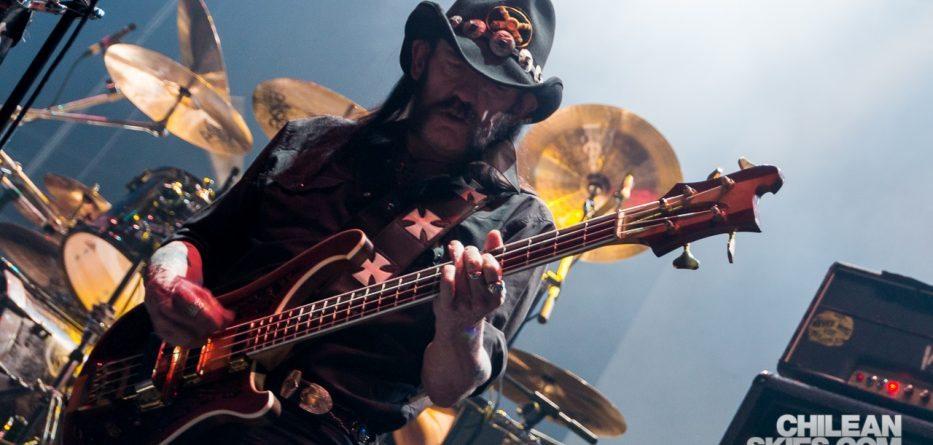 Lemmy Kilmister - Motörhead en Chile (2015)