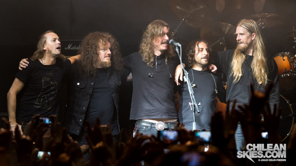 Opeth en Chile (17-07-2015)