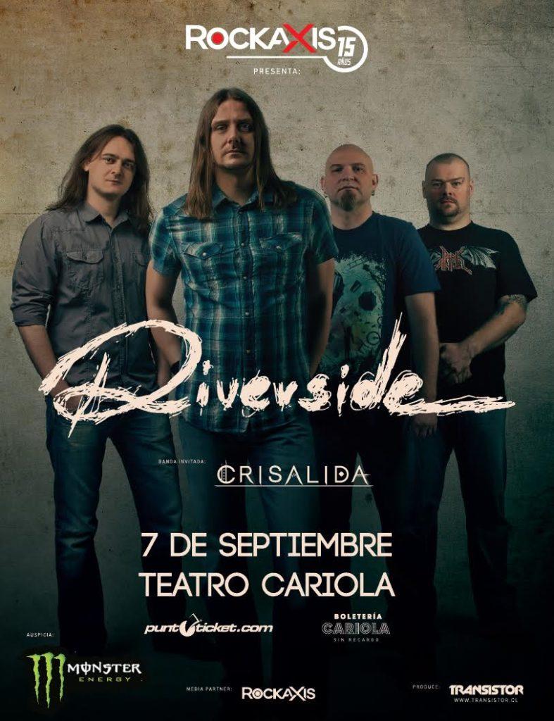AFICHE RIVERSIDE CHILE 2015