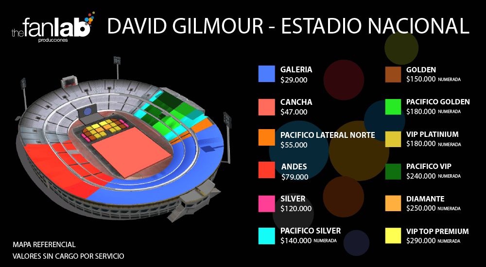 David Gilmour - mapa-estadio-numerada-1000x550