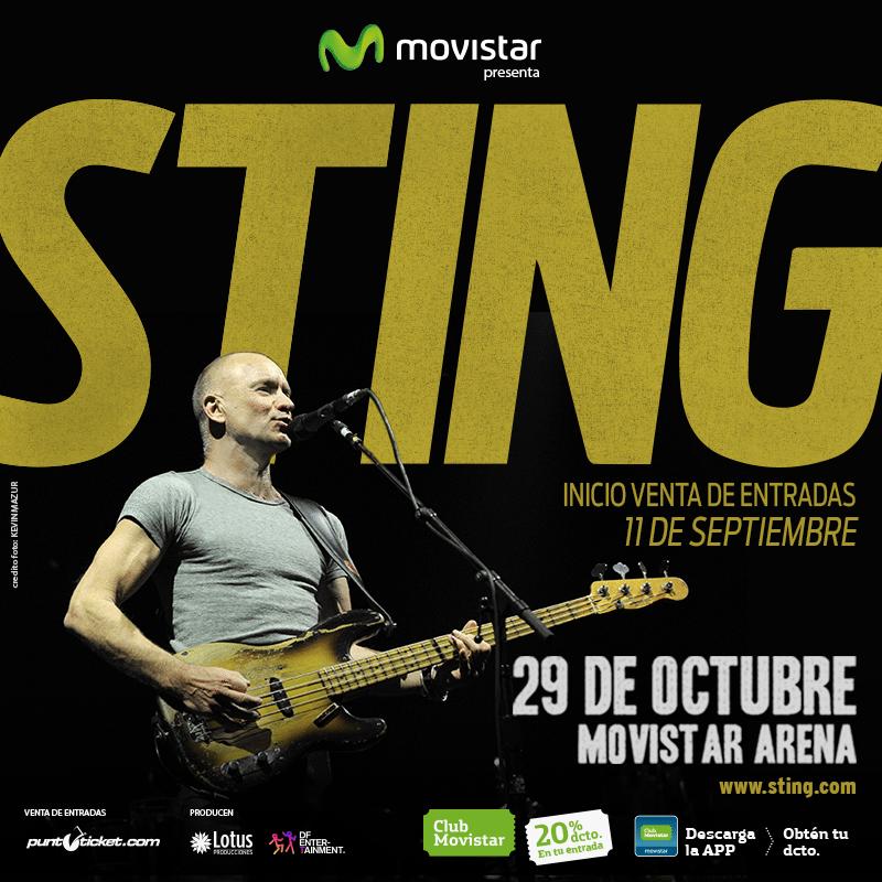 Sting en Chile