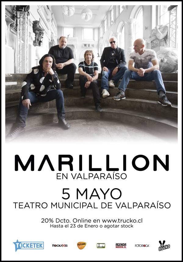 Marillion Valparaiso Chile 2016