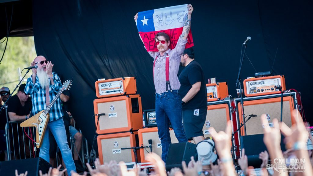 Eagles of Death Metal - Lollapalooza Chile 2016