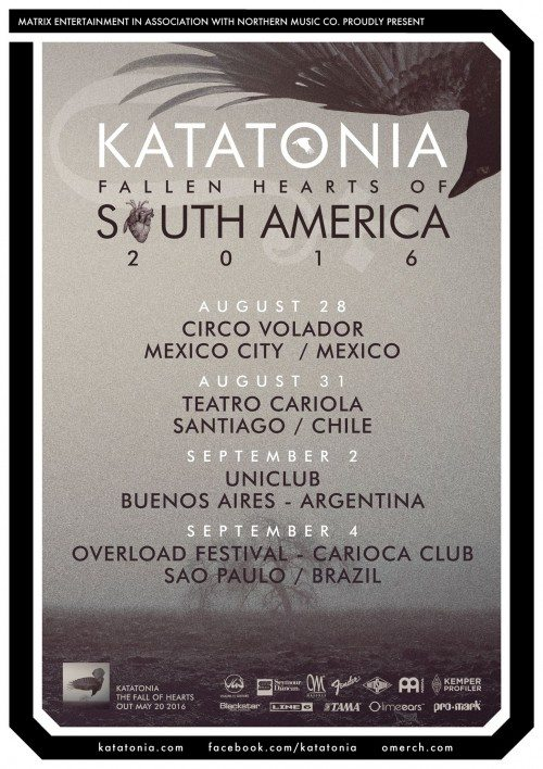 Katatonia Tour