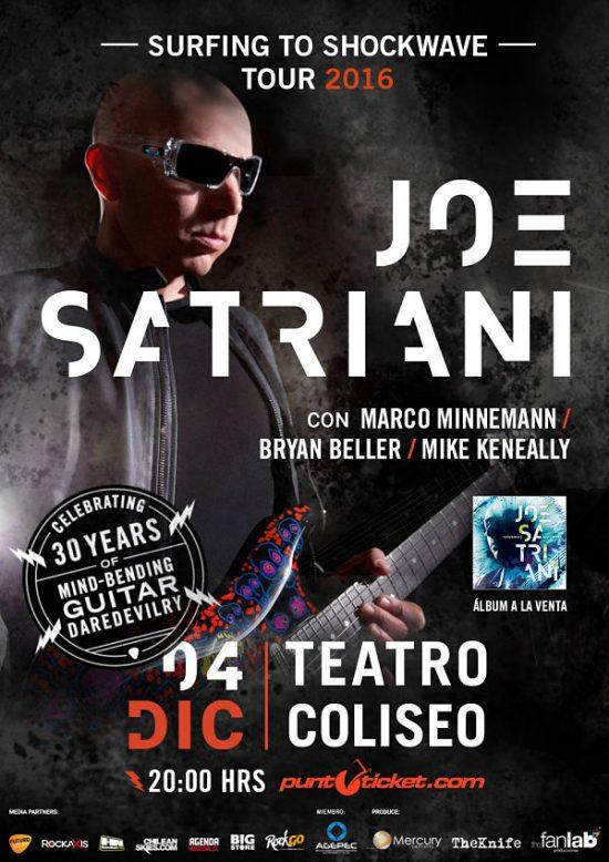 Satriani Chile 2016