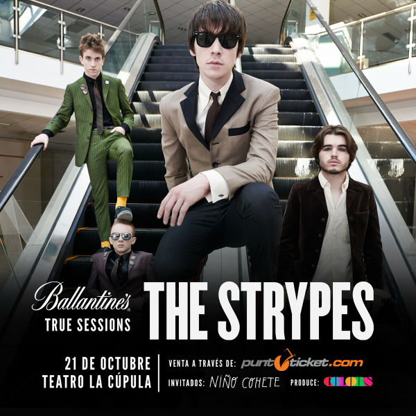 The Strypes chile 2016_rrss 600X600