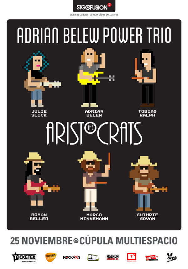 Adrian-Belew-The-Aristocrats-Chile-2016-Afiche