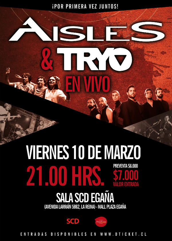 Aisles_-_Tryo_10_marzo_2017 CLSK Afiche full