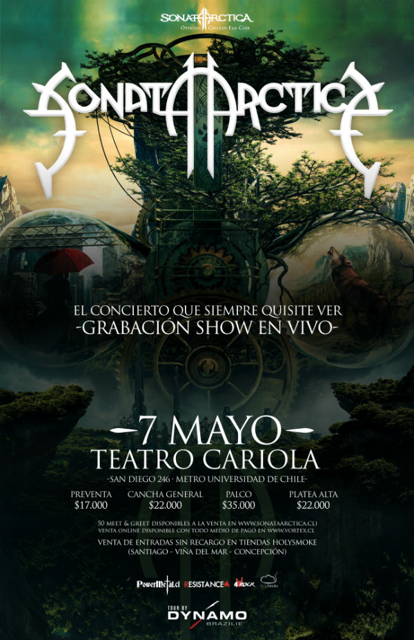 sonata-arctica-chile-2017-poster