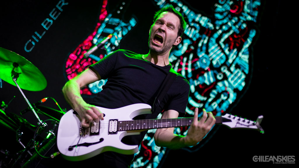 Paul Gilbert en Chile - 04-02-2017