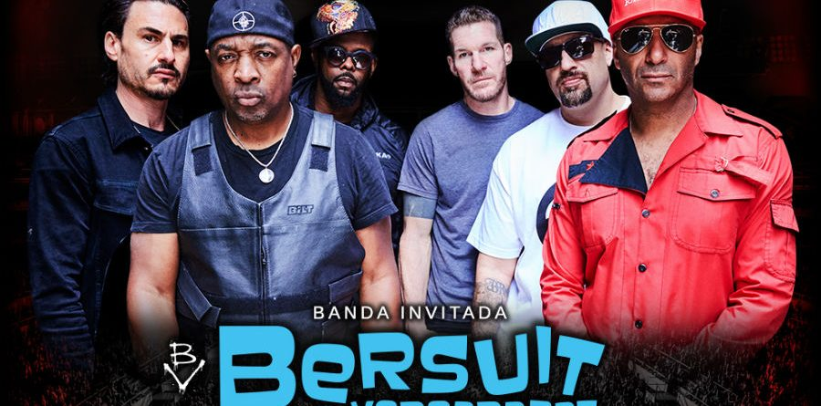 Prophets of rage+Bersuit 2017 Chile promo