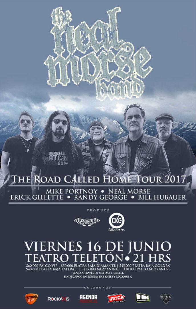 TheNealMorse - Afiche Web Precios 2017 Chile