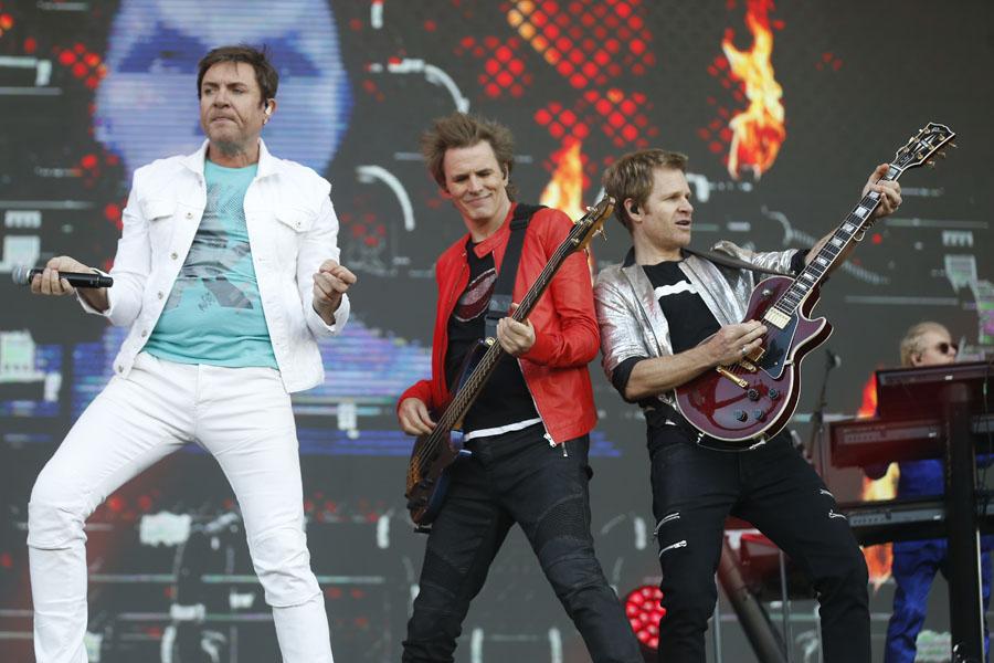Duran Duran Itau Stage Lollapalooza Chile 2017 Parque O'Higgins, Santiago, Chile. Domingo 02 de Abril Foto por Gabriel Rossi/Getty Images para Lotus Producciones