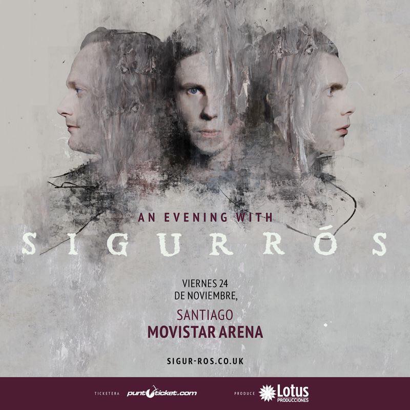 Afiche Sigur Ros Chile 2017