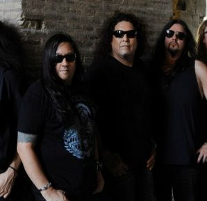 ROME, ITALY- JULY 27, 2016: Testament photographed at The Roman Collisseium in Rome, Italy on July 27,2016.© Gene Ambo