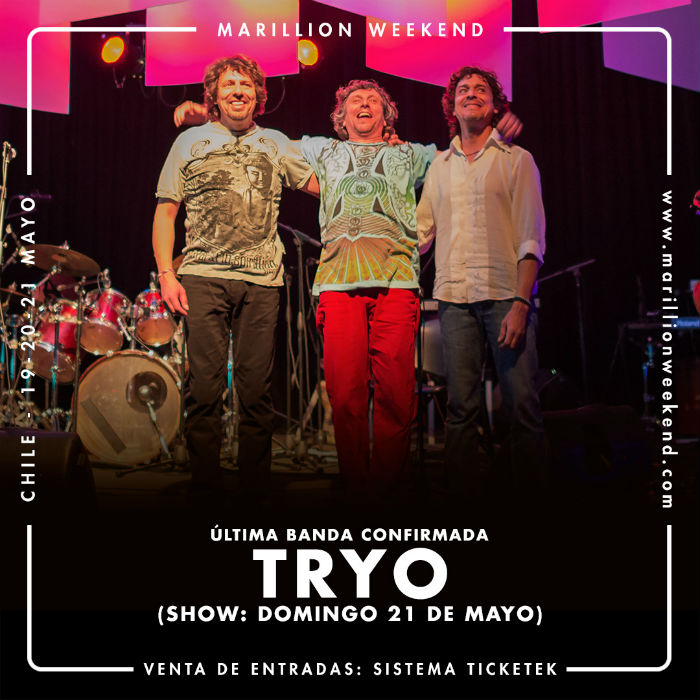 Tryo Marillion Weekend 2017 Chile opt