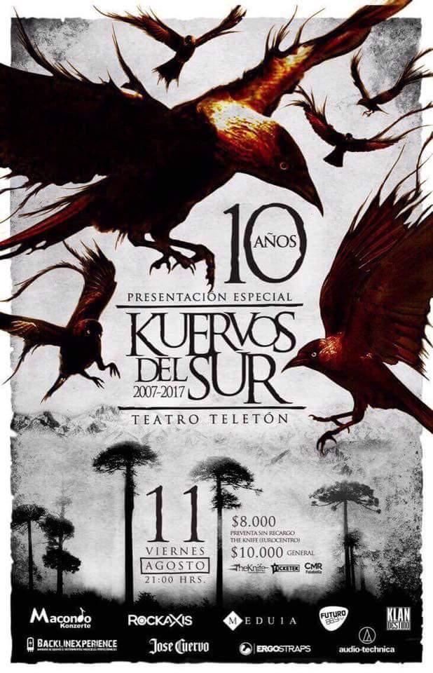 Kuervos del Sur - 10 Años