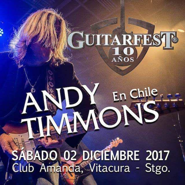 Andy Timmons en Chile