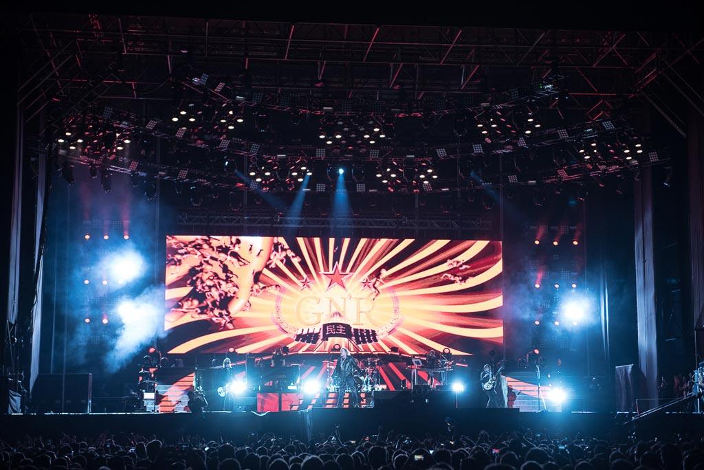 Guns N' Roses en Chile (2017)