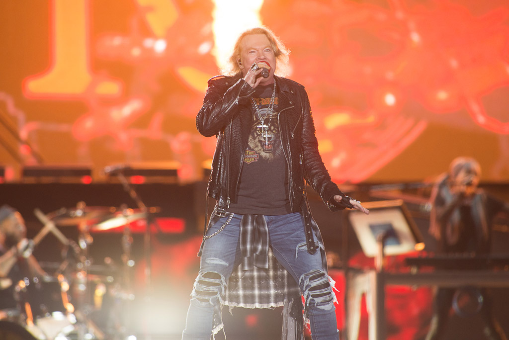 Axl Rose - Guns N' Roses en Chile (2017)