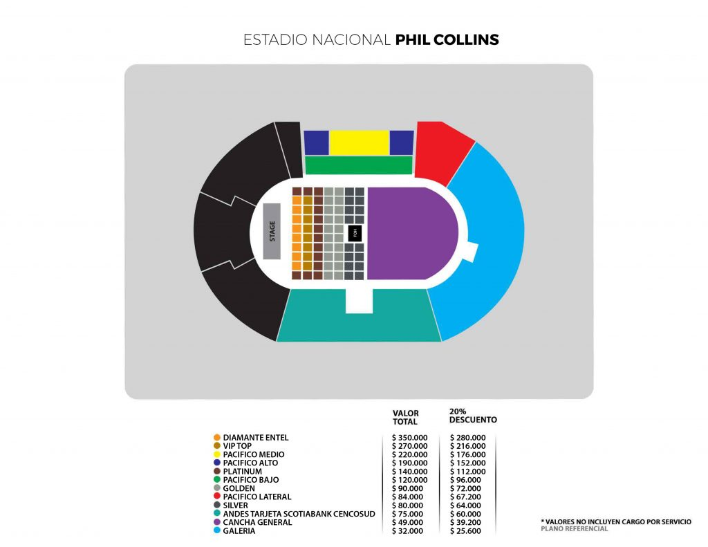 PHIL COLLINS Chile 2018