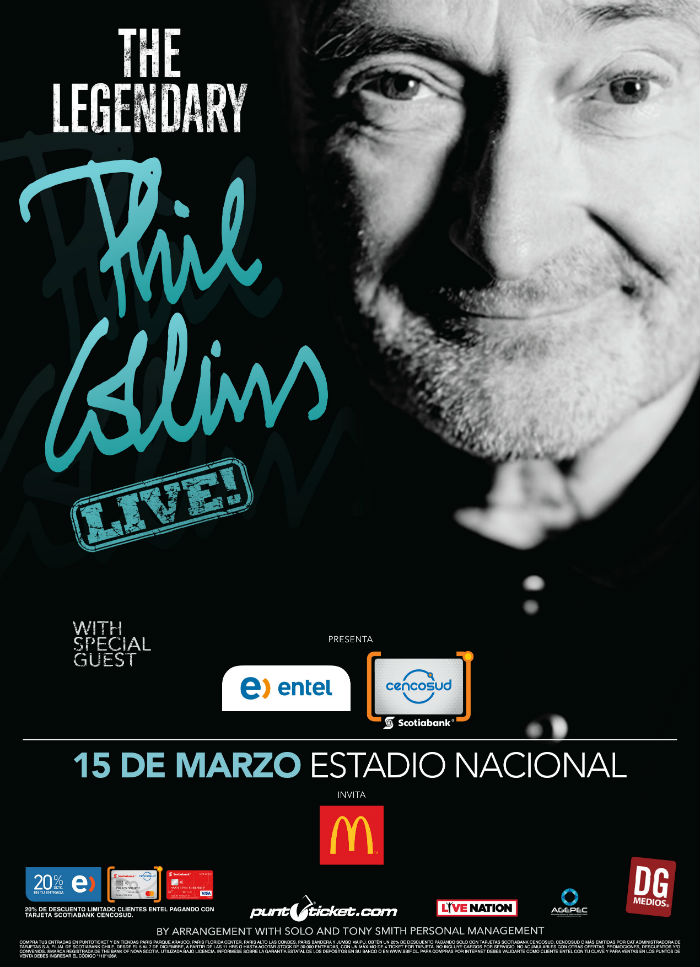 Phil Collins en Chile (2018)