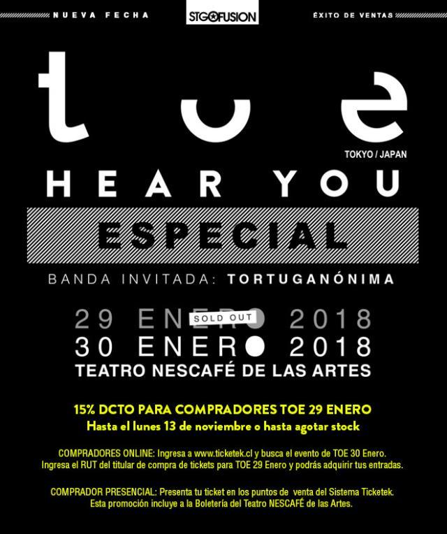 Toe en Chile (2018) - Segunda fecha