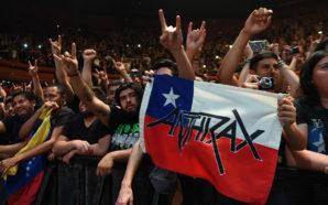 Anthrax en Chile (2017): despliegue de energía y consolidación con…