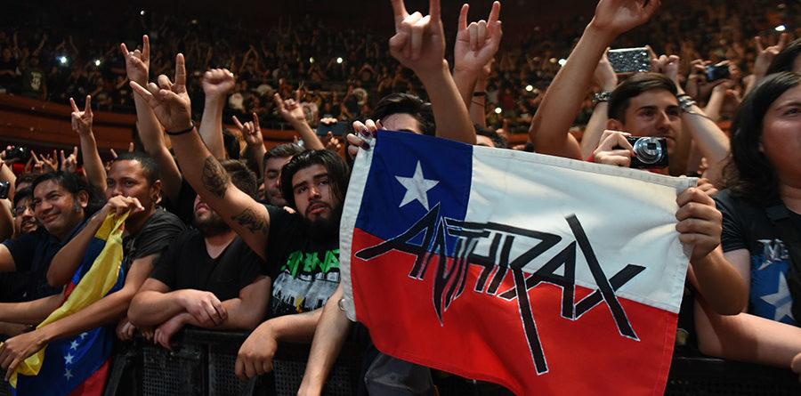 Anthrax en Chile (2017)