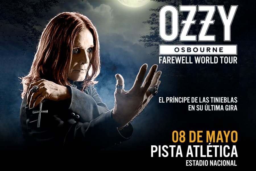 Ozzy Osbourne en Chile (2018) - Farewell World Tour