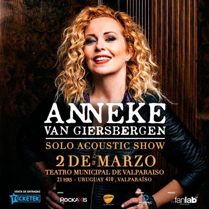 Anneke Van Giersbergen en Valparaíso (2018)
